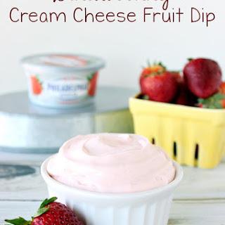 Strawberry Cream Cheese Fruit Dip.