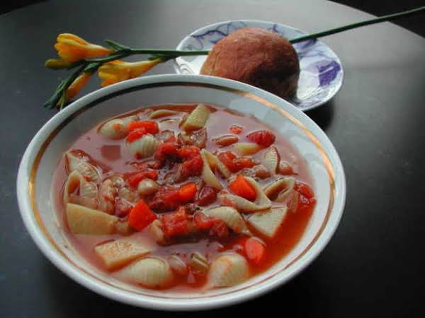 No Fat Minestrone Soup Recipe