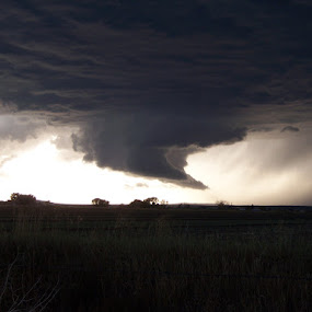 Idaho Wall Cloud by Gerrit Gulden - Landscapes Weather ( thunderstorm )