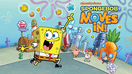 SpongeBob Moves In poster