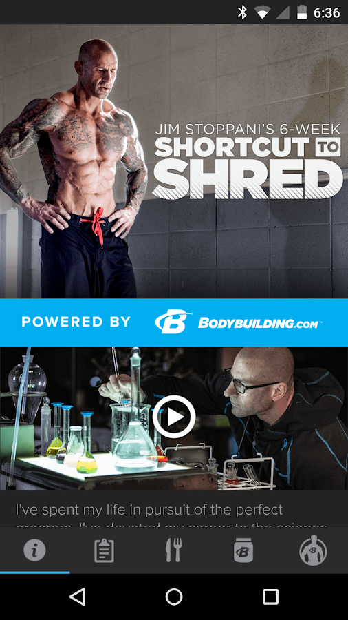 Jim Stoppani Shortcut to Shred- screenshot