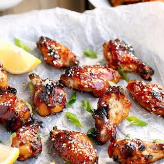 Honey Gold Chicken Wings Recipes.