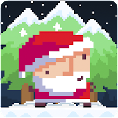 Santa Pixel Run