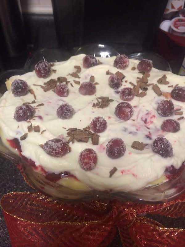 Cranberry Dreamsicle Trifle Recipe