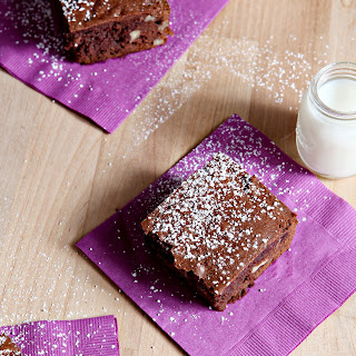 Bourbon Pecan Brownies