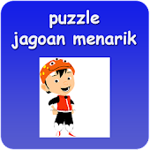 Puzzle kartun Jagoan