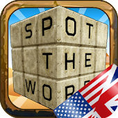Spot the Word 3D - Word search in English!
