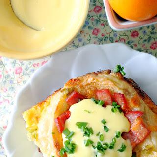Eggs Benedict Breakfast Bake.