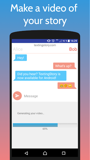 TextingStory - Chat Story Maker 2.0.4 screenshots 2