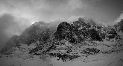 Photo: Tower Ridge and the Douglas Boulder