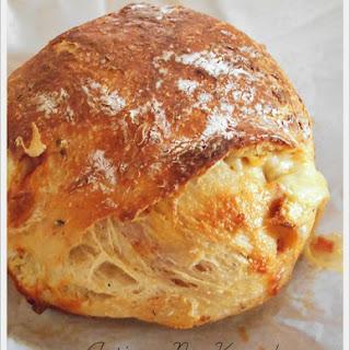 Artisan No-Knead Pizza Bread