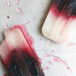 Blackberry Bramble Ice Pops