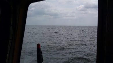 Photo: Lots of open water for miles and miles.
