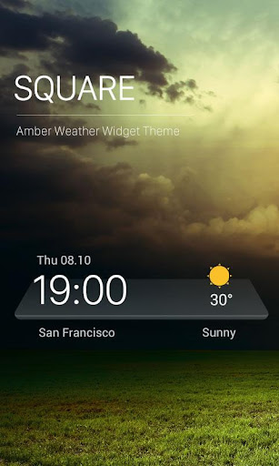 3D Temperature Weather Widget