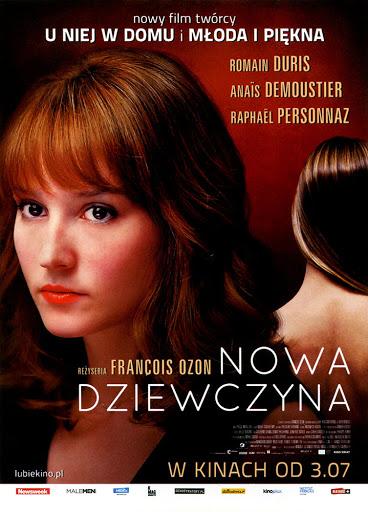 Przód ulotki filmu 'Nowa Dziewczyna'
