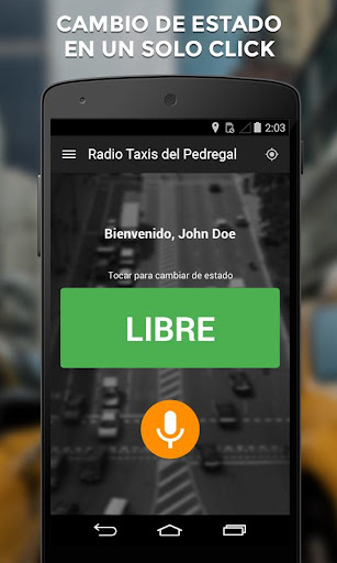 Radio Taxis Pedregal Conductor