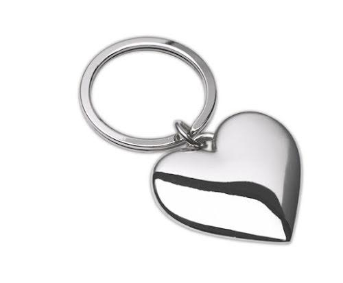 Fashion heart keyrings