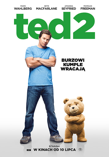 Polski plakat filmu 'Ted 2'