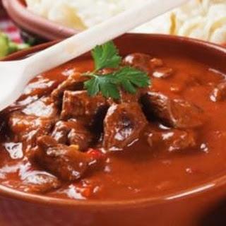 Hungarian Goulash Recipe (Beef Stew).