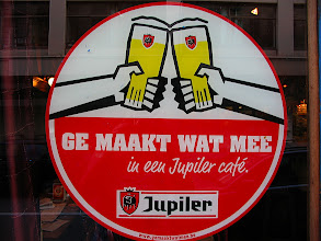 Photo: Better view of the Jupiler sign