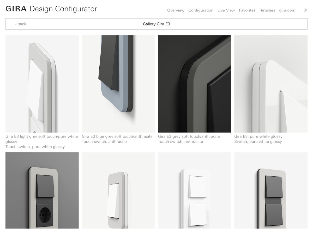 gira design configurator ar android apps on google play. Black Bedroom Furniture Sets. Home Design Ideas