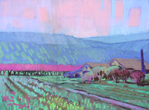 Photo: Brentwood Backcountry, pastel by Nancy Roberts, copyright 2014. Private collection.