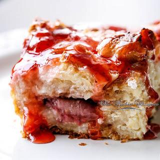 Berry Croissant Cheesecake Breakfast Bake