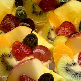 Delicious Dessert by Alice Chia - Food & Drink Candy & Dessert ( desserts, colourful, sweets, cakes, kiwi, fruits, apples, oranges, strawberry,  )