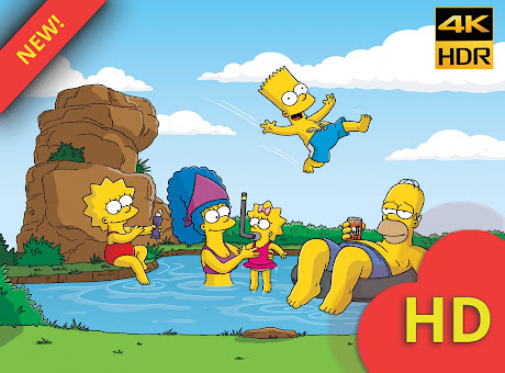 The Simpsons Wallpapers New Tab