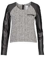 Photo: Pull col rond Dress Gallery : http://shop.be.com/tendances/total-cuir/tous-les-produits/top-lainage-et-cuir/2462/n16/d0/s/p/c/b/e/t.html
