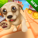 Pet Dog Run Icon