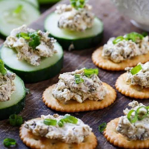 """Click Here for Recipe: Smoked Oyster Spread """"A simple Smoked Oyster Spread..."""