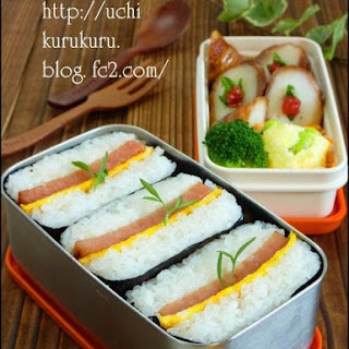 Simple Spam Onigiri Perfect for Bentobako (Lunch Boxes)