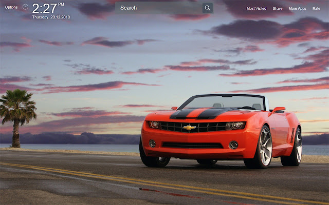 Camaro Wallpapers Theme New Tab