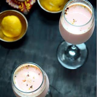 Cardamom Rose Milk.