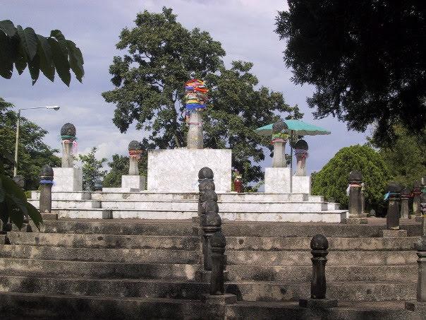 Navel City Pillar of Chiang Rai