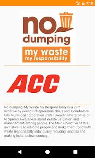 No Dumping - náhled