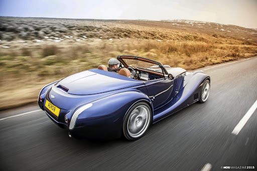 The Aero 8 is currently the most modern Morgan