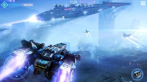 Code Triche Planet Commander tirer au flanc Space galaxy pilot APK MOD (Astuce) screenshots 1