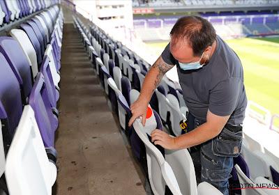 Anderlecht prépare le retour des supporters: ronds-points, 150 litres de gel, stickers