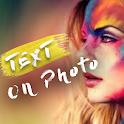 New type on photo-Text on photo app icon