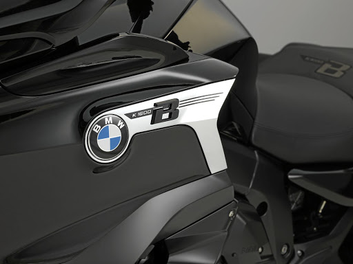 The BMW K 1,600 B is slick