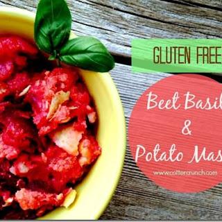 Gluten Free Beet Basil & Potato Mash.