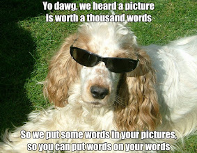 """Photo: Scott Thompson, """"Barney acting cool"""", http://www.flickr.com/photos/scottthompson/145662157/, License: Creative Commons Attribution http://creativecommons.org/licenses/by/2.0/deed.en. Text added to original image."""