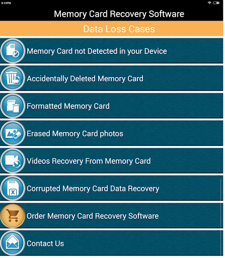 Memory Card Recovery Software 3.2 screenshots 6