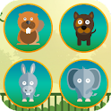 Animals Matching Card Puzzle icon