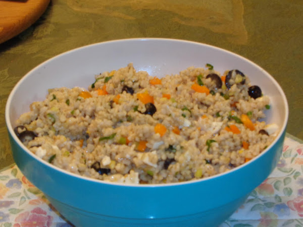 Andalusian Rice Salad Recipe