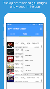 Save Twitter Videos and Gif