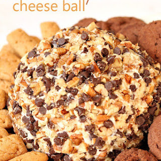 Chocolate Chip Cheese Ball.