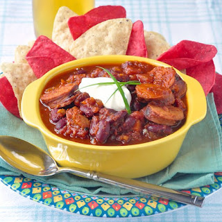 Smoked Sausage Chili